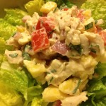 Quick and Healthy Leftover Rotisserie Chicken Salad