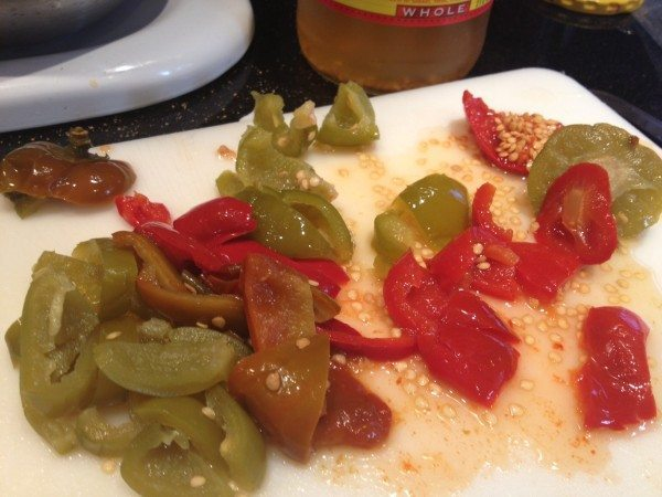 Pork Medallions and Peppers 8