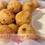 baked Cheddar Potato Puffs