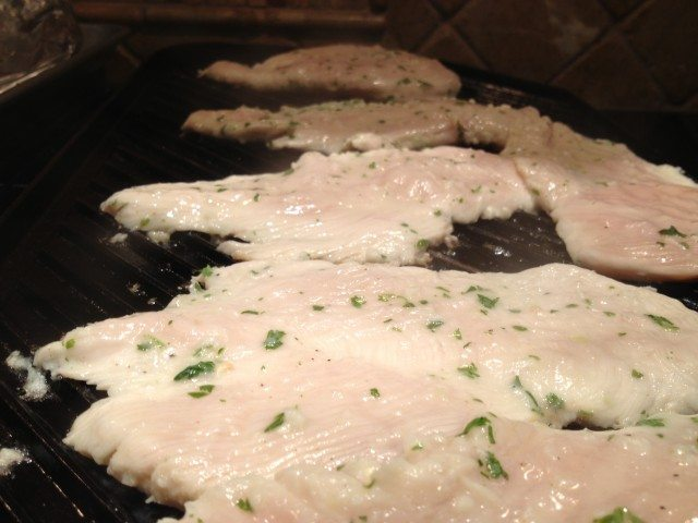 Grilled Chicken with Garlic, Lime and Tequilla