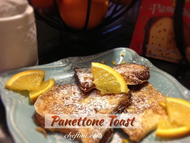 Panettone French Toast Style