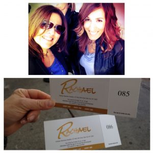 Tina and Rosemarie at the Rachael Ray Show
