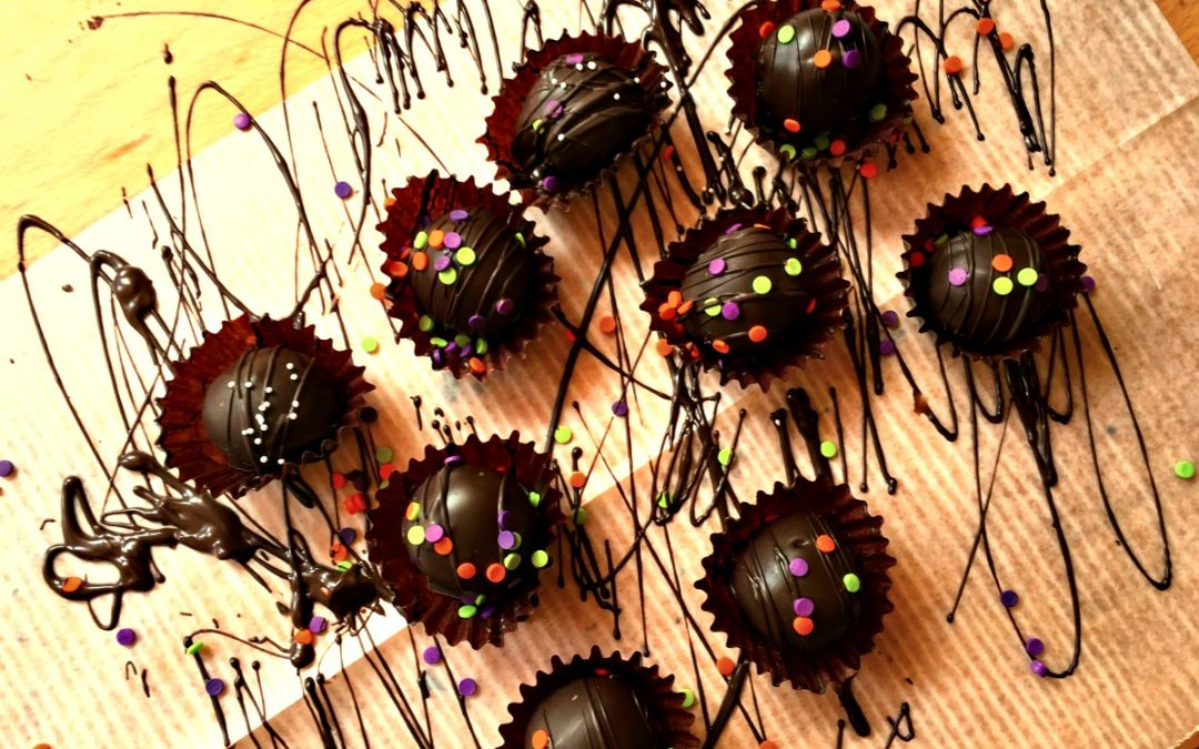 Chocolate Cookie Truffles