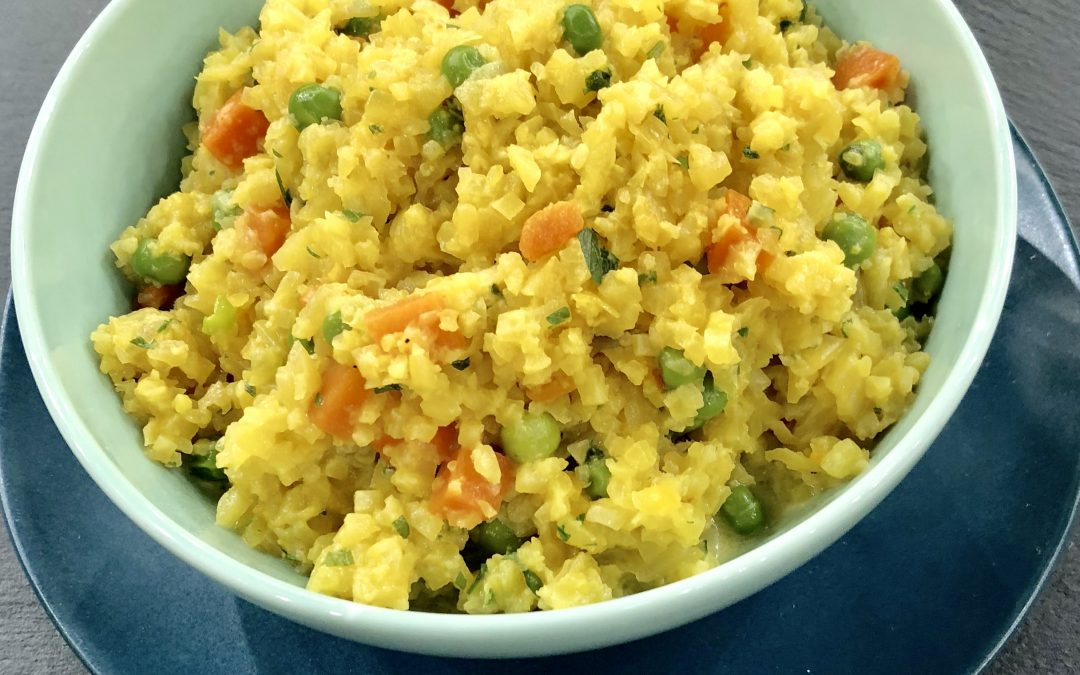 My Cauliflower Saffron Risotto from the Dr. Oz Show